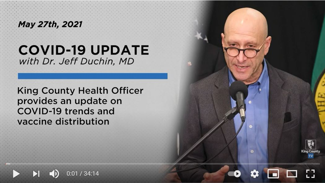 Video: Press Briefing Featuring Updates on COVID-19, Boosters, and Vaccination